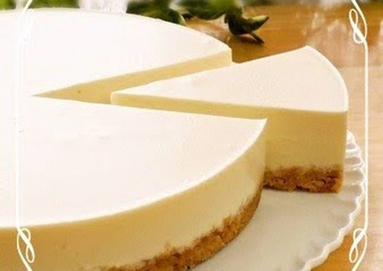 Rich and Easy No-Bake Cheesecake (Plain)