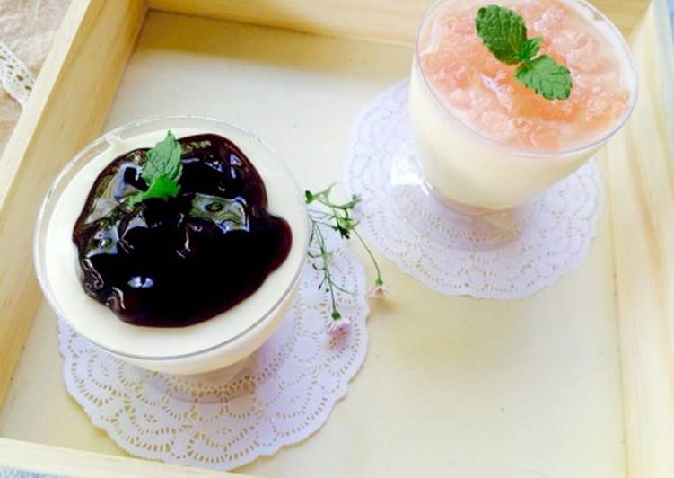 Simple No-baked Cheese cake