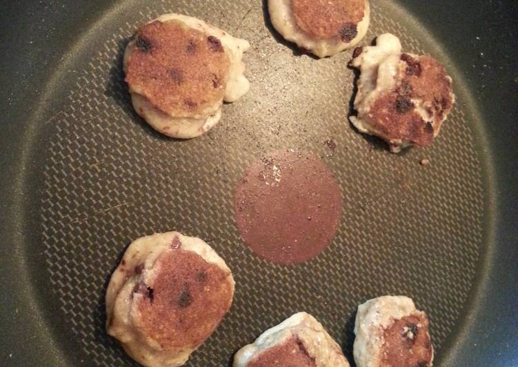 Stove top reduced gluten cookies