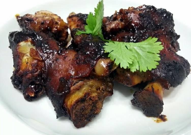 Baked Black Pepper Ham Hock