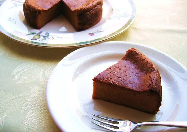 Easy Rich Caramel Cheesecake