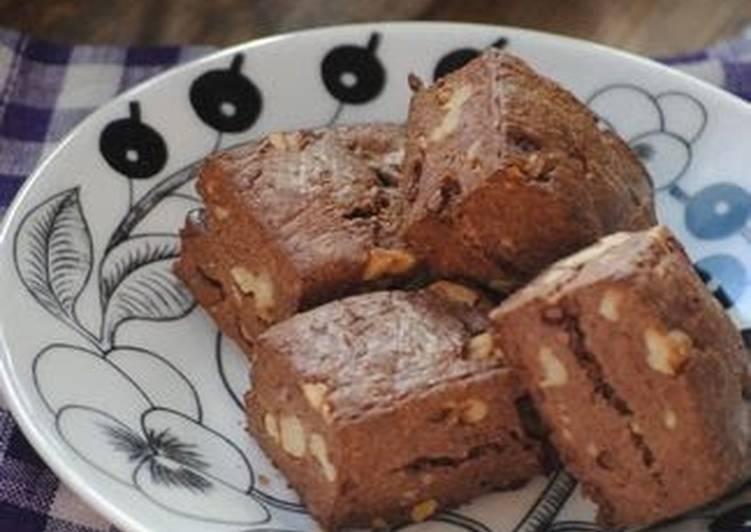 Homemade Leavened Scones (Chocolate Walnut)