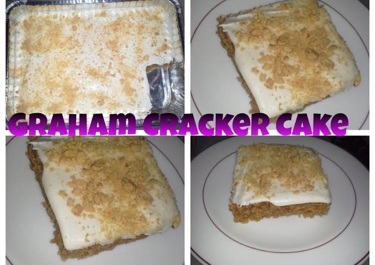 Moist Graham Cracker Cake