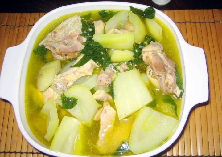 Chicken Tinola (Chicken Ginger Stew)