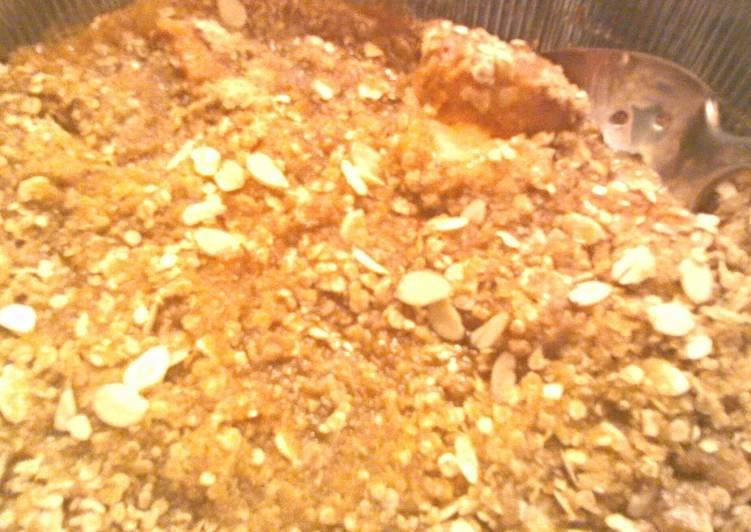 Sweet Potato and Applesauce Casserole