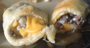 Cheeseburger Crescent Rolls