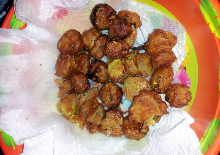 Deep fried pickles