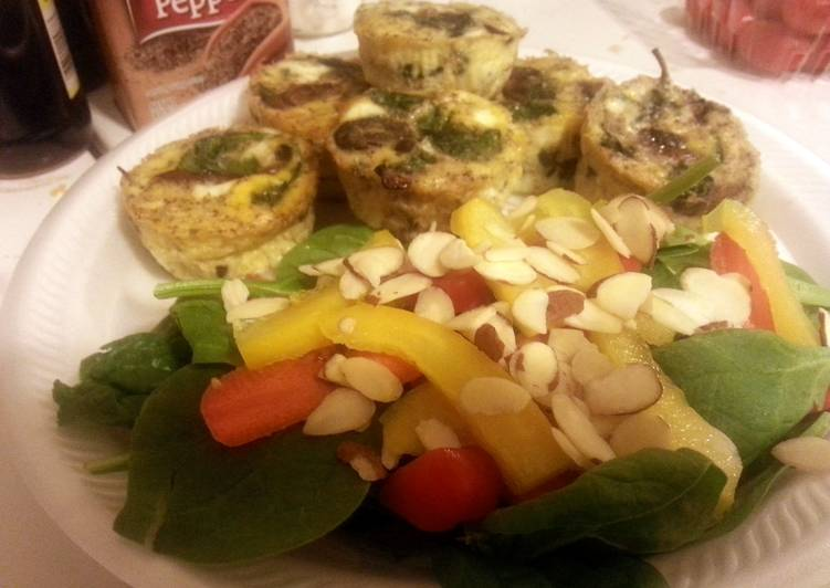 Paleo Cheese-less /Crust-less Quiche