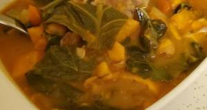 Brad's West African Chicken, Collard Green, And Peanut Stew
