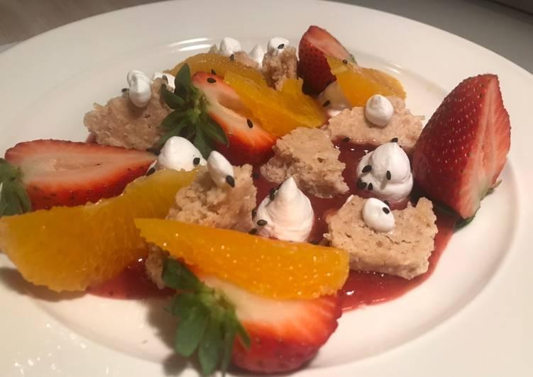 Berries Crunch - Vegan dessert
