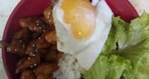 Rice bowl Chicken Teriyaki