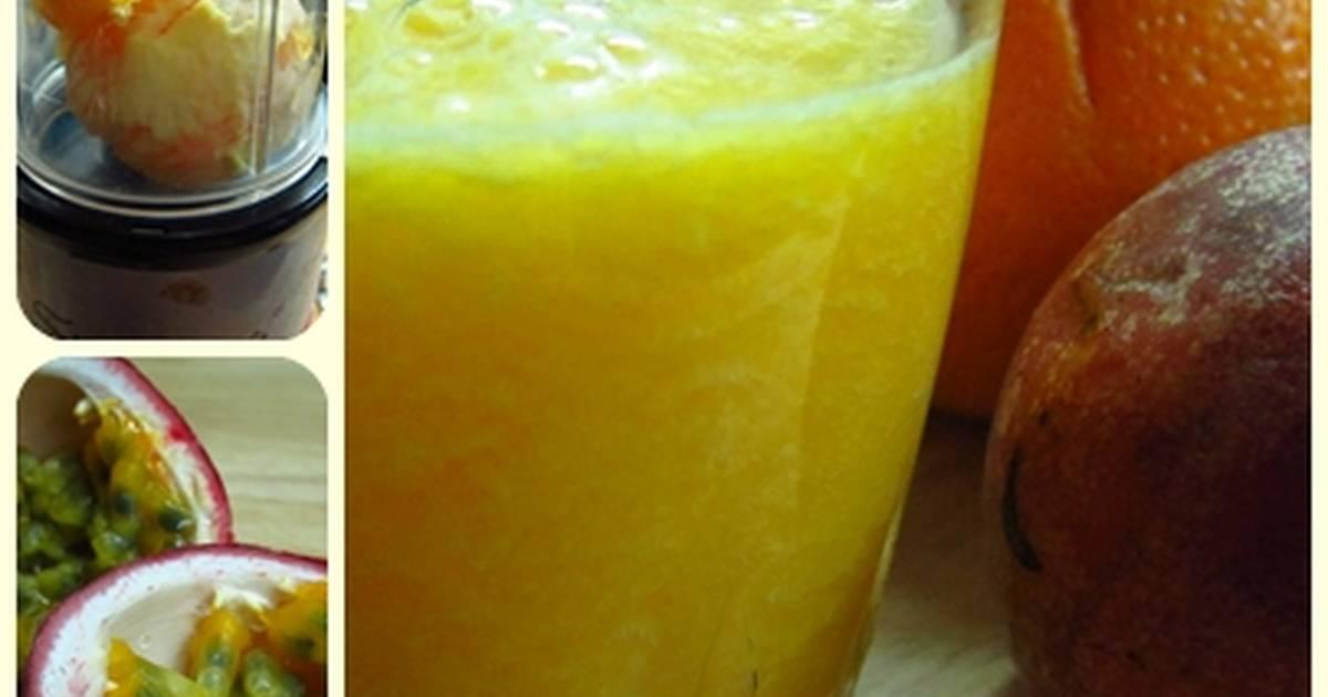 香橙熱情果汁食譜 by Agnes的自煮世界 - Cookpad