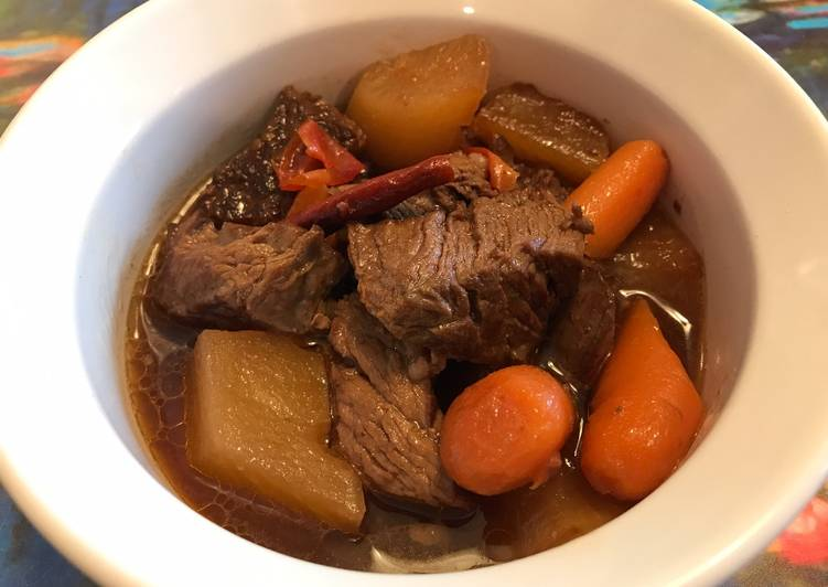 Chinese Spicy Beef Stew