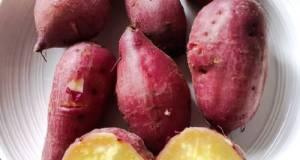 Steam Yellow Sweet Potato