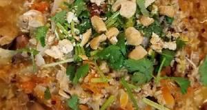 Savory Quinoa Steel Cut Oat Porridge *Instant Pot Max*
