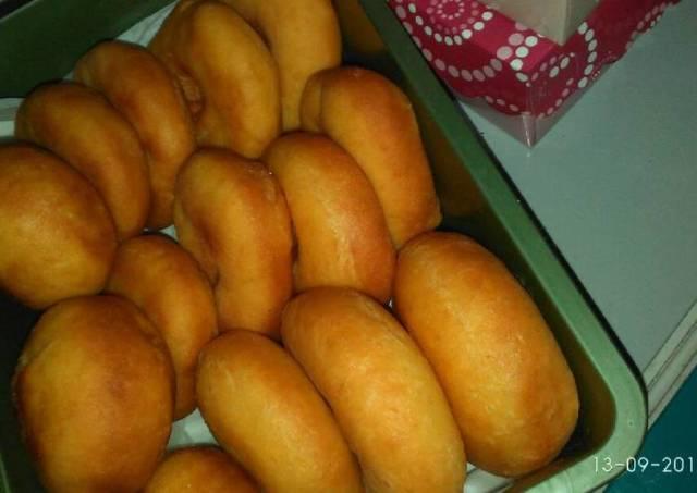 Donuts ubi Cilembu empuk n lembut