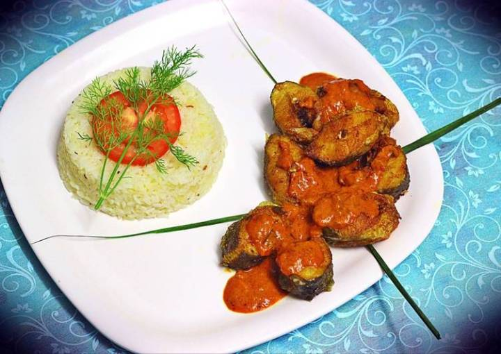 Hot & sour Fish coconut curry