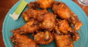 Buffalo Garlic Chicken Wings