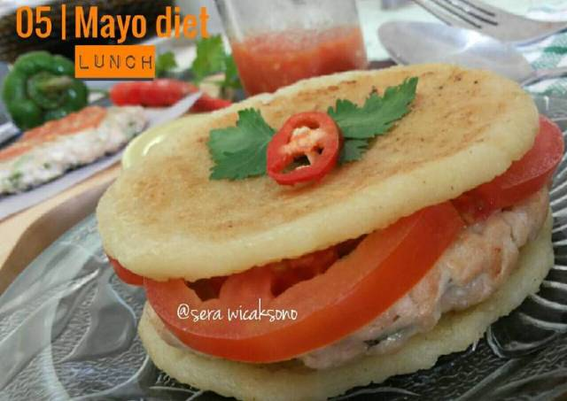 Mayo day 5 - lunch | chicken sandwich