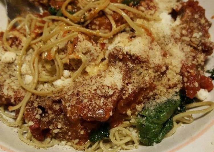 Italian Edamame Spaghetti