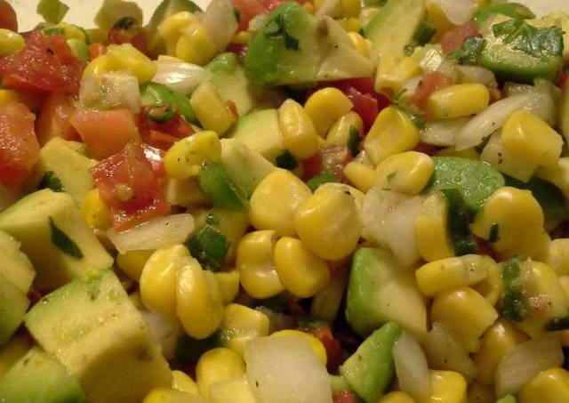 Sweet Corn and Avocado Salsa