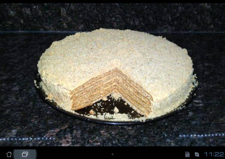 Medovnik ( Honey Cake )