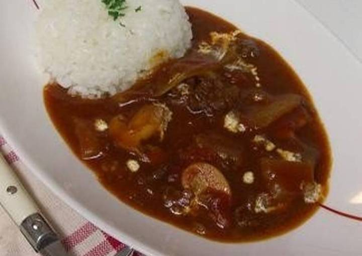 Tomato Hashed Beef Stew