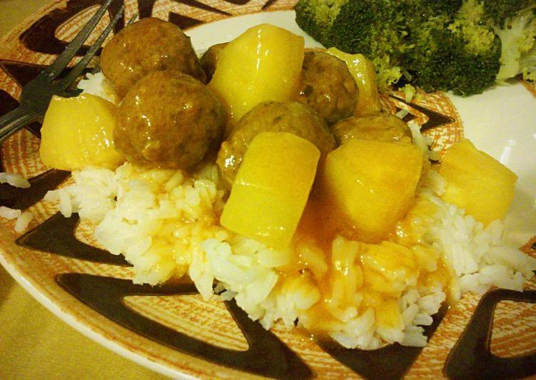 Sweet N' Sour Meatballs