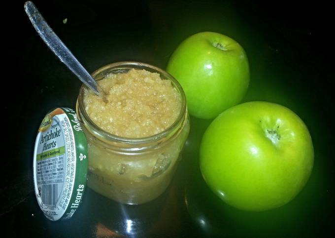 Apple Sauce Baby Food