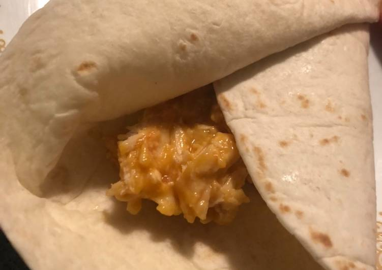 Cheesy Chicken Burritos