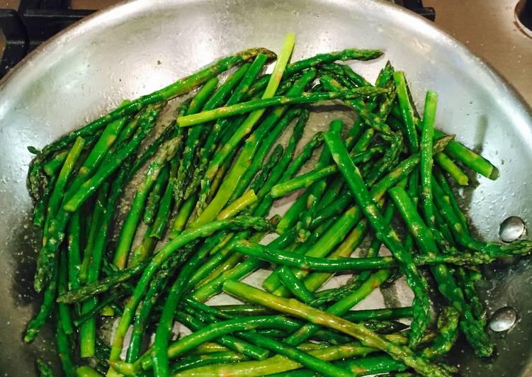 Sautéed Asparagus In Ghee