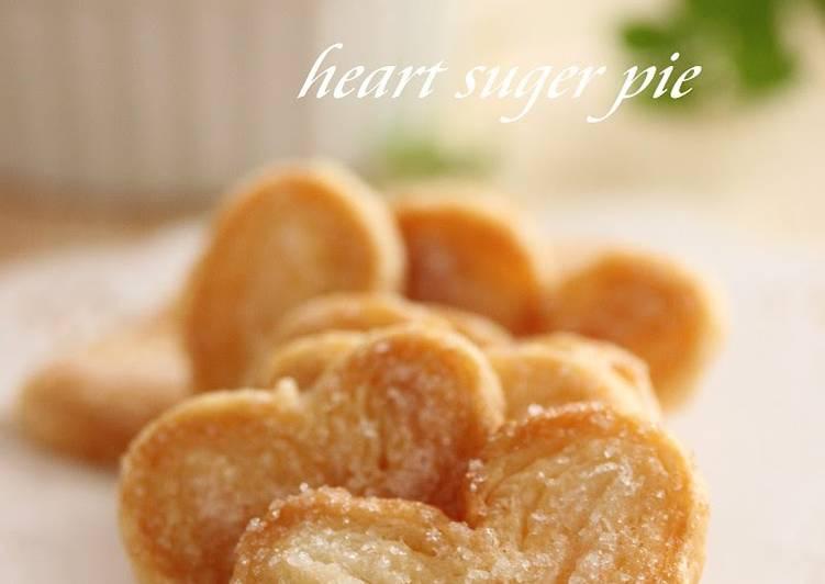 Heart Shaped Sugar Pie