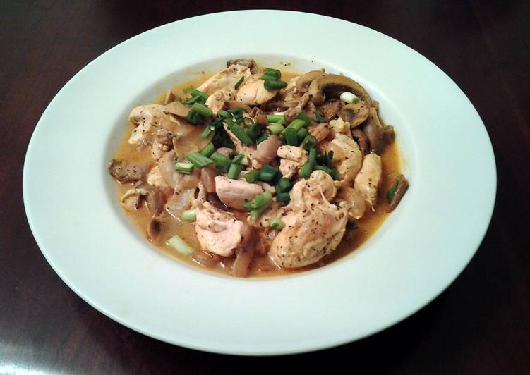 , Recipe: Appetizing Chinese Chicken with Mushrooms my version of Moo Goo Gai Pan
