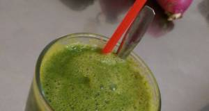 Healthy Green Smoothie For Cleansing Your Body