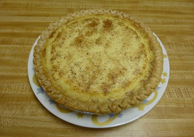 Texas Buttermilk Pie