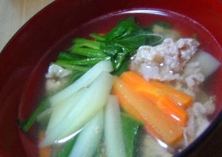 Simple Pork Soup