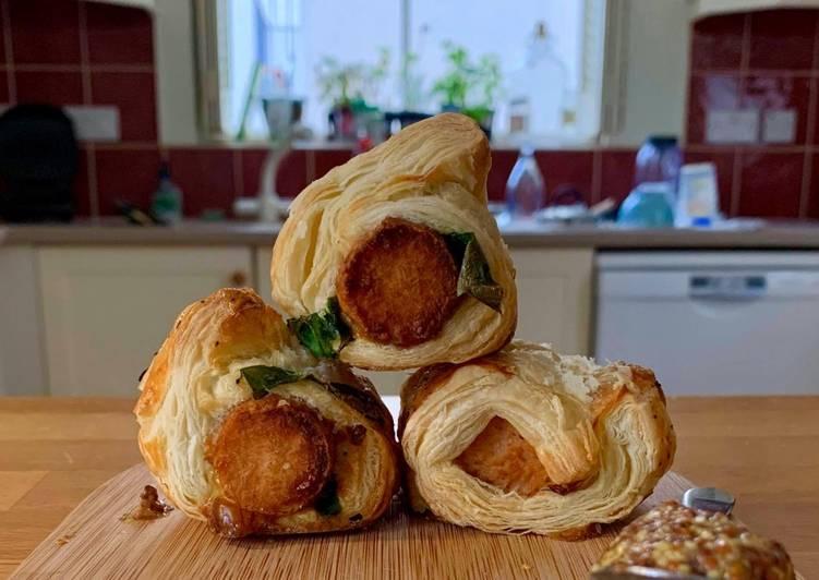 Easy Peasy Veggie Sausage Rolls