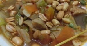 Gongso Bakso Taburan Kacang Bawang