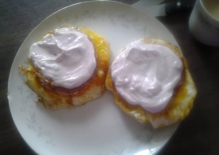 Fancy and simple eggs in a basket