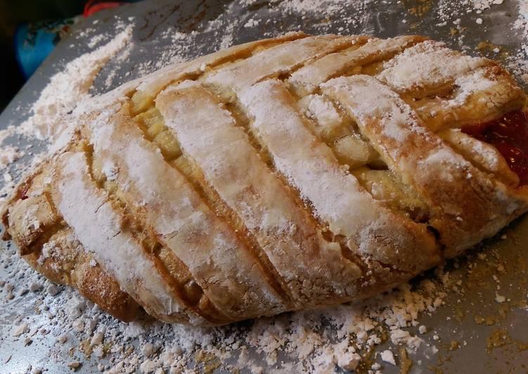 Braided Cherry Pie Bread