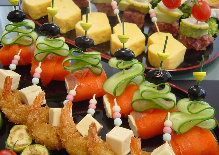 Party Hors d'Oeuvres Pinchos