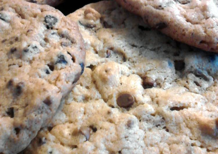 Not Your Ordinary Peanut Butter Chocolate Chip Cookies