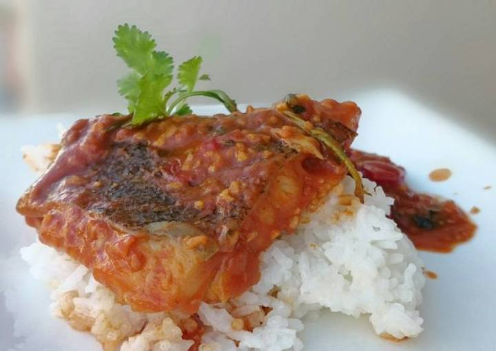 Halibut Fish Curry