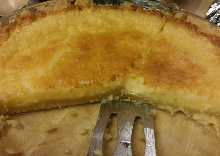 Christi's Buttermilk Pie