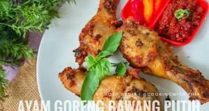 Ayam Goreng Bawang Putih Simple