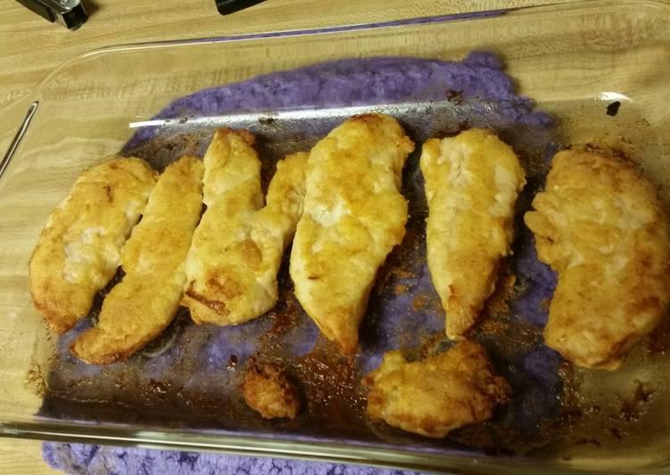Oven Fried Chicken (gluten-free)