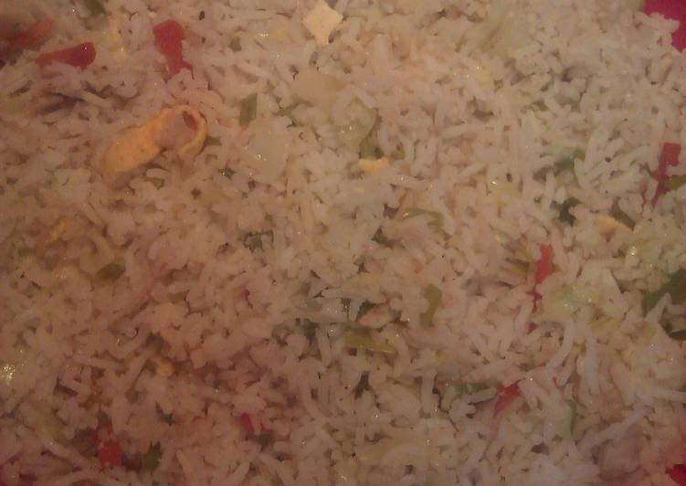 , How to Cook Appetizing Easy n Simple Chinese Veggy Egg Fried Rice