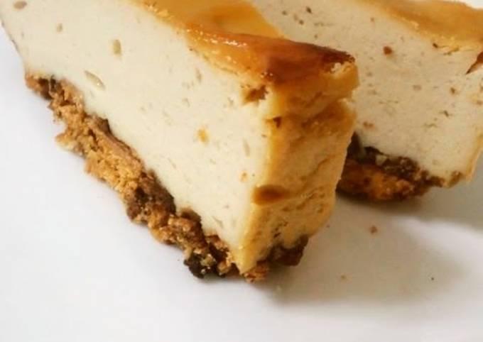 Dense Tofu Baked Cheesecake