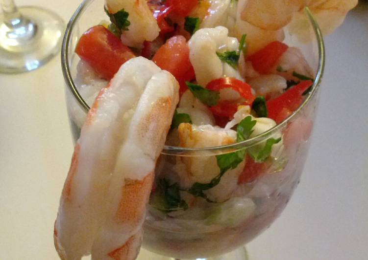 My Shrimp Ceviche