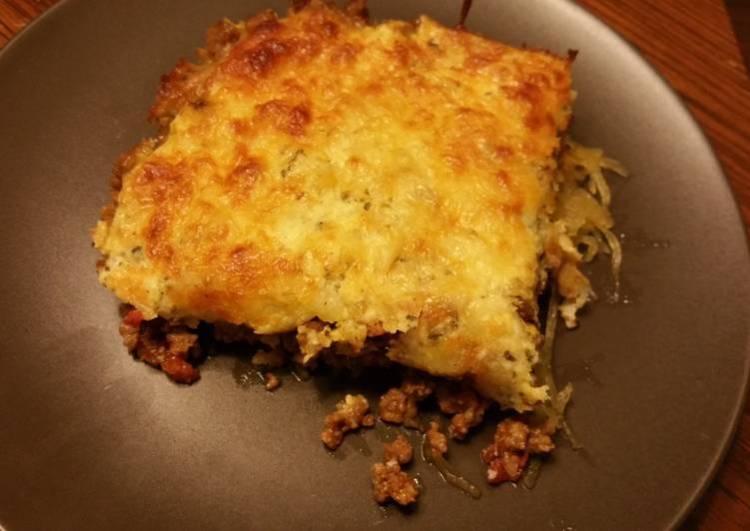 Guilt-Free Meat Lasagna